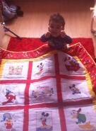 Rowan S's quilt
