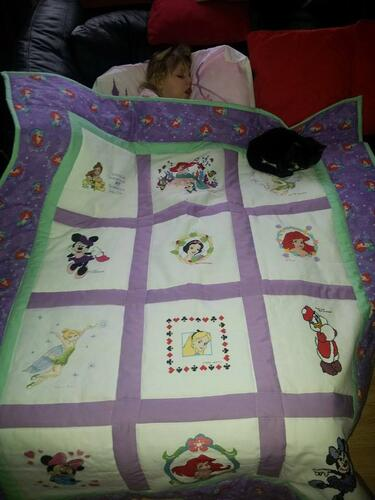 Photo of Aimee Fs quilt
