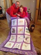 Zara G's quilt