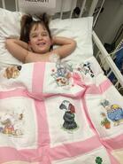 Matilda B's quilt