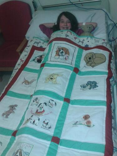 Photo of Molly Ws quilt