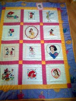 Photo of Addy Ls quilt