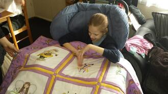 Grace W's quilt
