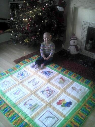 Photo of Daisy Ws quilt
