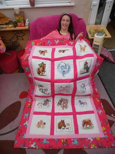 Photo of Bethan Gs quilt