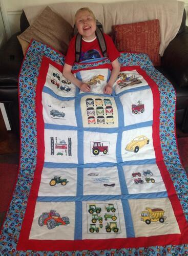 Photo of Callum W 1s quilt