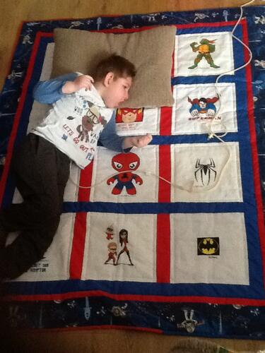 Photo of Callum W 2s quilt