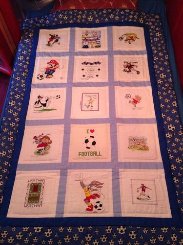 Photo of Lewis Hs quilt