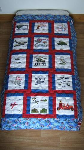 Photo of Jack Ds quilt