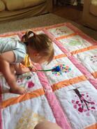Olivia B's quilt