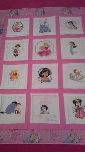 Photo of Courtneys quilt