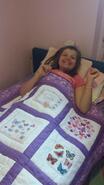Danielle P's quilt