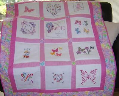 Photo of Katie Ds quilt
