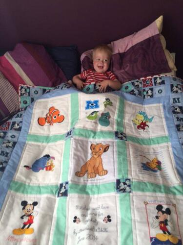 Photo of Blakely As quilt