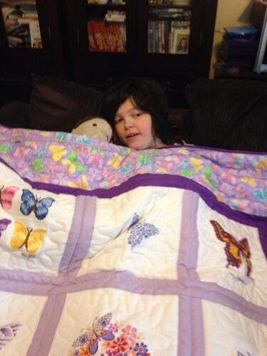 Photo of Aleta Js quilt