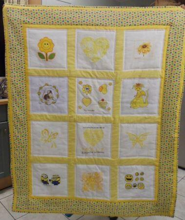 Photo of Molly Gs quilt