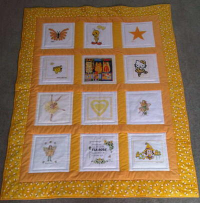 Photo of Tia-Rose Ms quilt