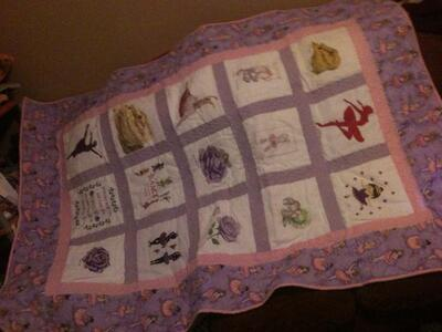 Photo of Meghan Hs quilt