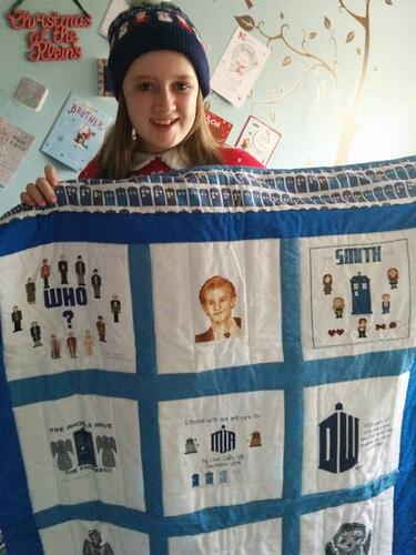 Photo of Mia Ks quilt