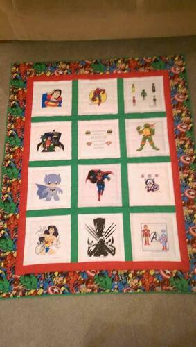 Photo of Mason Cs quilt