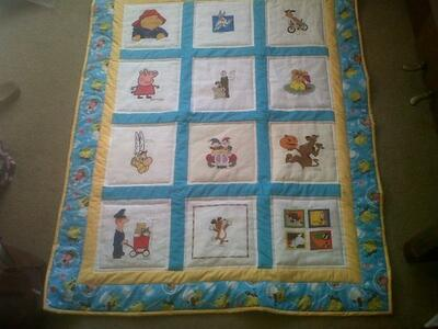Photo of Tyler Ws quilt