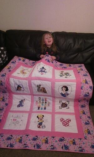 Photo of Gracie Ds quilt