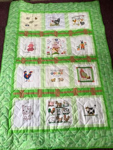 Photo of Oscar Ss quilt