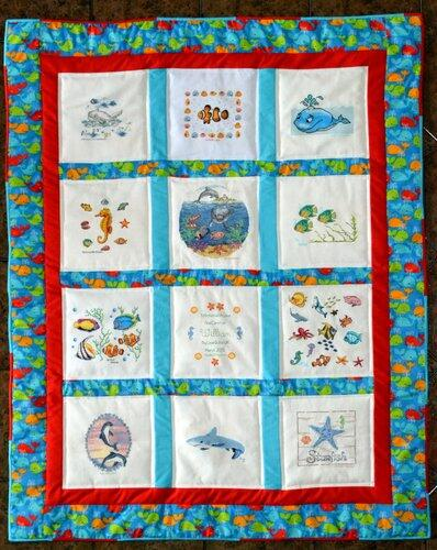 Photo of William Es quilt