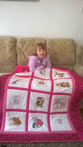 Photo of Amy Ws quilt