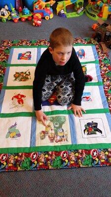 Photo of Dylan As quilt