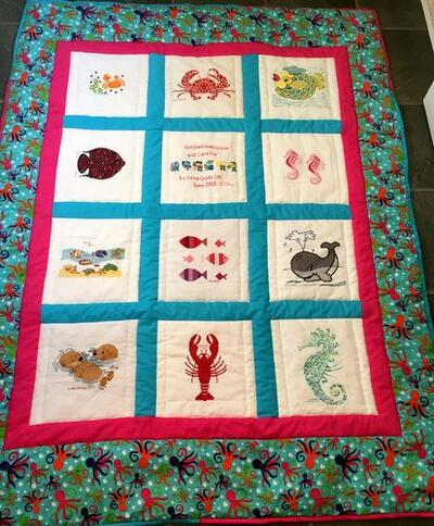 Photo of Nieshas quilt