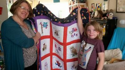 Photo of Mari Hs quilt