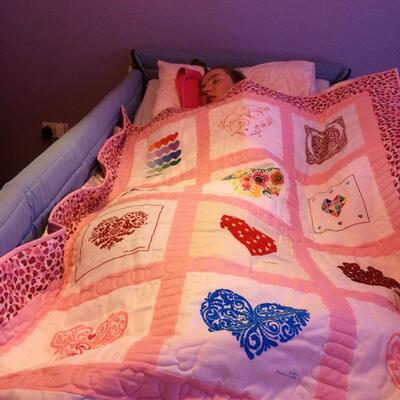 Photo of Amy Ms quilt