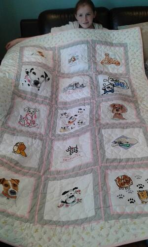 Photo of Charlotte Cs quilt