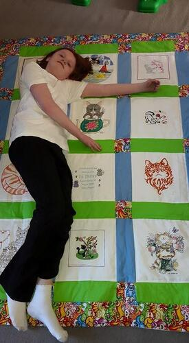 Photo of Bethany Ls quilt