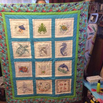Photo of Lewis C 2s quilt