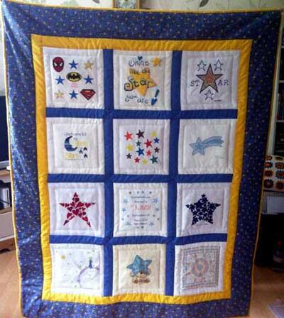 Photo of James Hs quilt