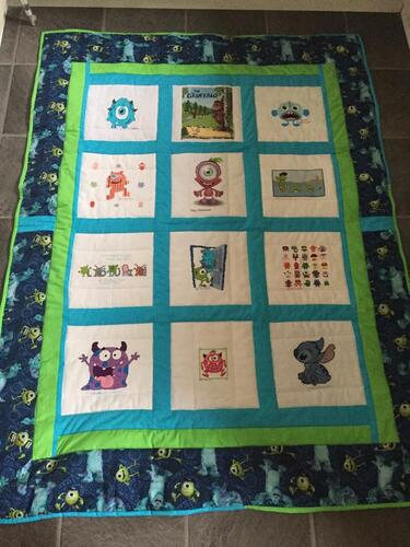 Photo of Louie Bs quilt