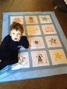 Charlie A's quilt