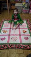 Lily F's quilt