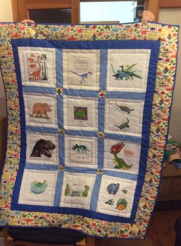 Photo of Alexander Cs quilt