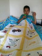Kyron H's quilt