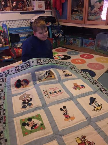 Photo of James Ws quilt
