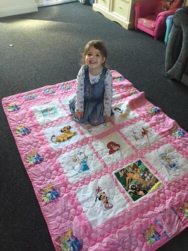 Photo of Scarlett Rs quilt
