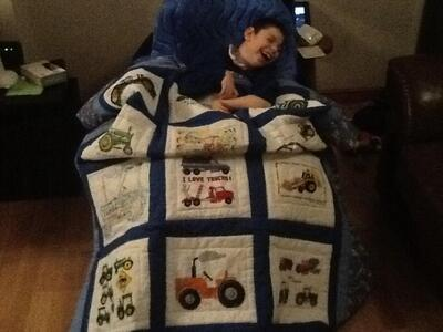 Photo of Noah Gs quilt