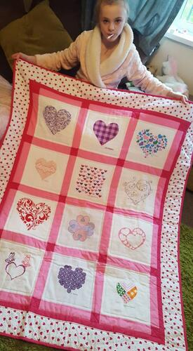 Photo of Freya Fs quilt