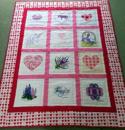 Photo of Grace Ws quilt