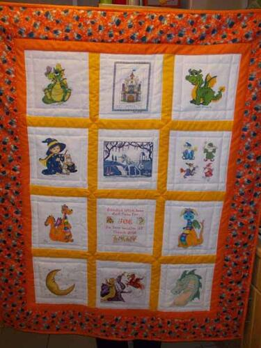 Photo of Joe Js quilt