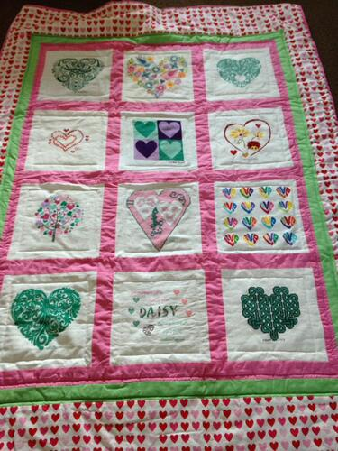 Photo of Daisy As quilt