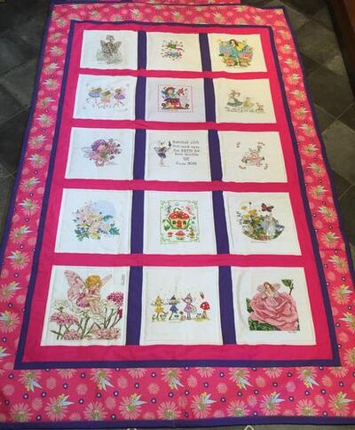 Photo of Beth Cs quilt